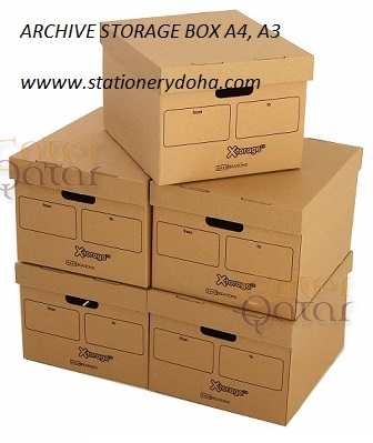 ARCHIVE BOX A4, A3 – Cater Qatar